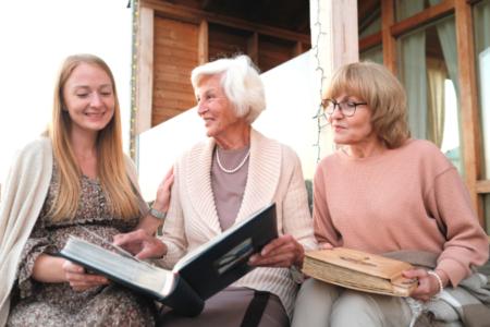 Daughter, Mother, and Grandma